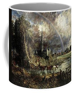 Salisbury Cathedral From The Meadows Coffee Mug