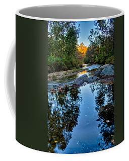 Stone Mountain North Carolina Scenery During Autumn Season Coffee Mug