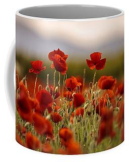 Summer Poppy Meadow Coffee Mug