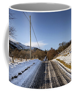 Trossachs Scenery In Scotland Coffee Mug