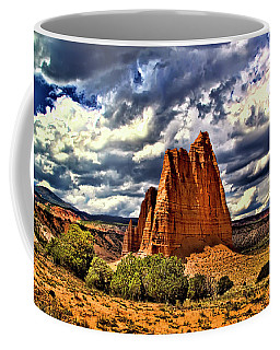 Capitol Reef National Park Catherdal Valley Coffee Mug