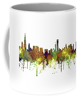 Chicago Illinois Skyline Coffee Mug by Marlene Watson
