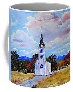 #17 St. Johns Historic Church On Hwy 69 Coffee Mug
