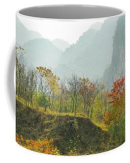The Colorful Autumn Scenery Coffee Mug