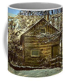 1700's Log School House In West Chester, Pennsylvania Coffee Mug