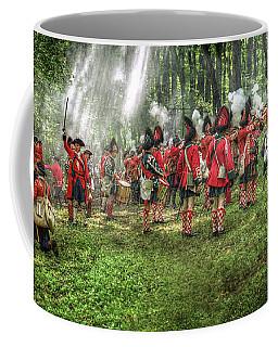 1763 Battle Of Bushy Run Pennsylvania Coffee Mug by Randy Steele