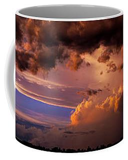 Coffee Mug featuring the photograph Nebraska Hp Supercell Sunset by NebraskaSC