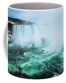 Niagara Falls Scenery In Winter Coffee Mug