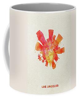Skyround Art Of Los Angeles, United States Coffee Mug