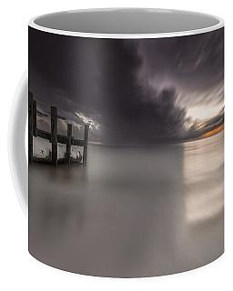 Sunst Over The Ocean Coffee Mug