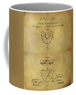 1866 Dental Mold Patent Coffee Mug by Dan Sproul