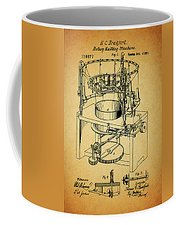 1871 Rotary Knitting Machine Coffee Mug by Dan Sproul