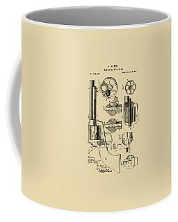1875 Colt Peacemaker Revolver Patent Vintage Coffee Mug