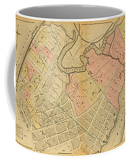 Coffee Mug featuring the photograph 1879 Inwood Map  by Cole Thompson