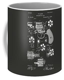 1881 Colt Revolving Fire Arm Patent Artwork - Gray Coffee Mug