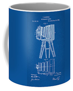1885 Camera Us Patent Invention Drawing - Blueprint Coffee Mug