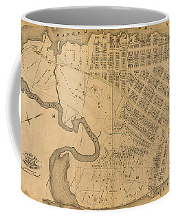 Coffee Mug featuring the photograph 1885 Inwood Map  by Cole Thompson