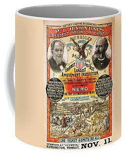 1890 - Circus Poster Coffee Mug