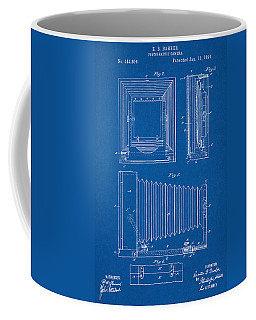 1891 Camera Us Patent Invention Drawing - Blueprint Coffee Mug