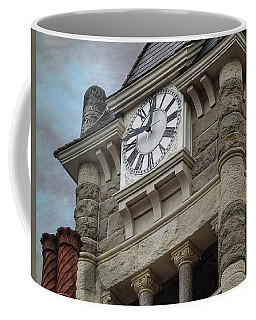 1892 Historic Clock Tower View 2 Coffee Mug by Ella Kaye Dickey