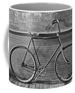 Coffee Mug featuring the photograph 1895 Bicycle by Joan Reese