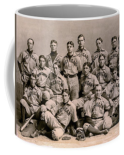 1896 Michigan Baseball Team Coffee Mug
