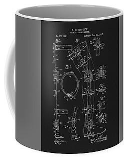 1897 Artificial Leg Patent Coffee Mug by Dan Sproul