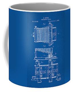 1897 Camera Us Patent Invention Drawing - Blueprint Coffee Mug