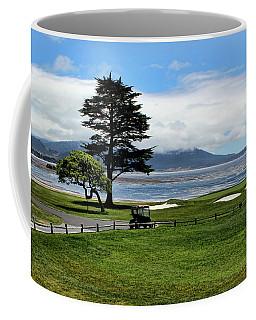 18th At Pebble Beach Horizontal Coffee Mug