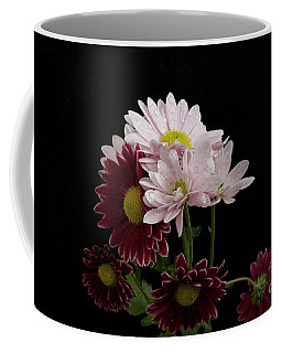 Coffee Mug featuring the photograph Autumn Flowers by Elvira Ladocki