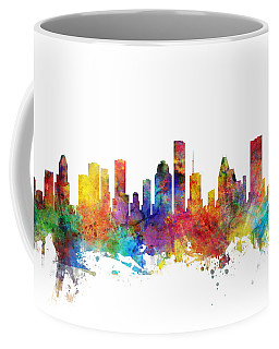 Houston Texas Skyline Coffee Mug