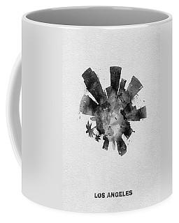 Black Skyround Art Of Los Angeles, United States Coffee Mug
