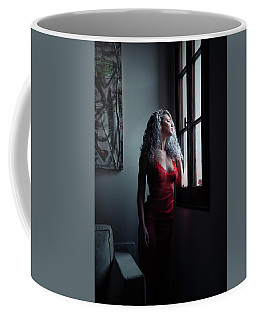 Coffee Mug featuring the photograph Tu M'as Promis by Traven Milovich