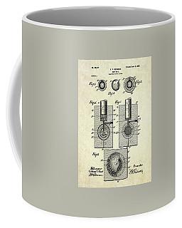 1902 Golf Ball Patent Art Coffee Mug