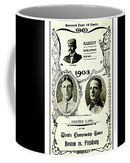 1903 World Series Poster Coffee Mug