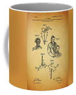 1904 Dental Forceps Patent Coffee Mug by Dan Sproul