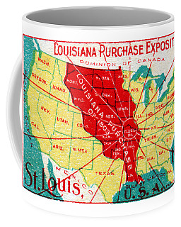 1904 Louisiana Purchase Exposition Coffee Mug