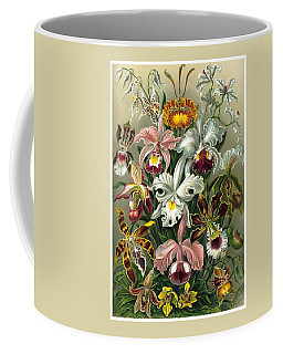 1904 Orchids Art Forms Of Nature Print Coffee Mug
