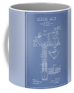 1907 Mining Salt Patent En36_lb Coffee Mug