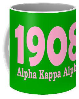 1908 Alpha Kappa Alpha  Coffee Mug