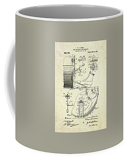 1909 Ludwig Drum And Cymbal Patent Coffee Mug by Gary Bodnar