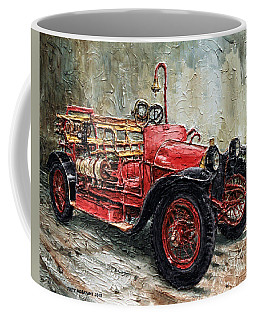 1912 Porsche Fire Truck Coffee Mug