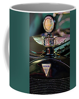 1913 Hudson Model 37 Torpedo Tourer Hood Ornament -0753c Coffee Mug