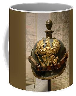 1915 Prussian Artillery Spiked Pickelhaube Helmut Coffee Mug