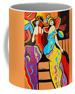 1920's  Stepping Out Coffee Mug by Nora Shepley