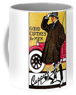 1920's Vintage Men's Clothing Coffee Mug