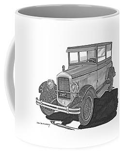 1925 Jewett 2 Door Touring Sedan Coffee Mug by Jack Pumphrey