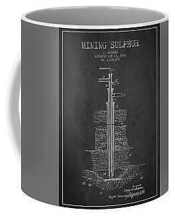1926 Mining Sulphur Patent En37_cg Coffee Mug