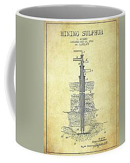 1926 Mining Sulphur Patent En37_vn Coffee Mug