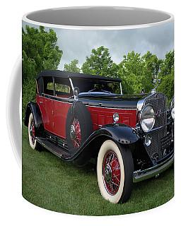 1930 Cadillac V16 Allweather Phaeton Coffee Mug by Tim McCullough